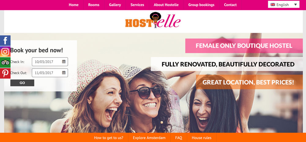 Hostelle Site